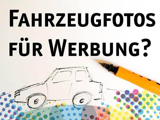Fahrzeugfotos für Werbung