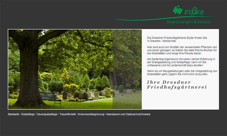 Webdesign Grabpflege