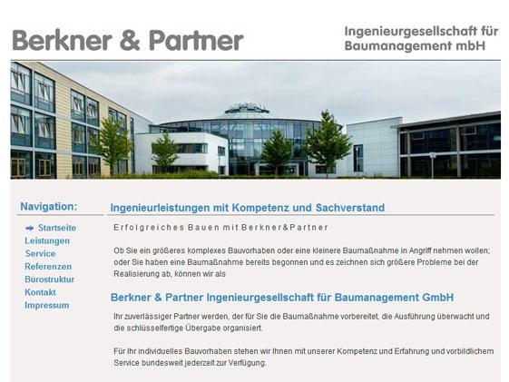 Webdesign für Ingenieurbüro