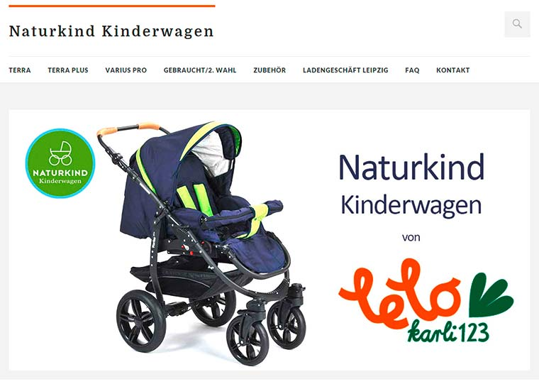 Website Kinderwagen