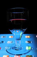 iPad als Leuchttisch