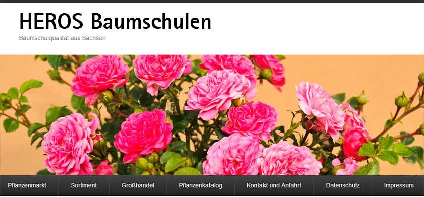 Website Baumschule