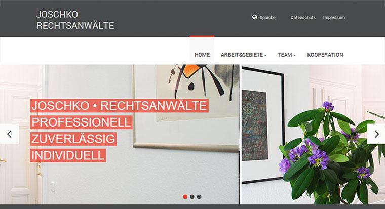 Website Rechtsanwalt