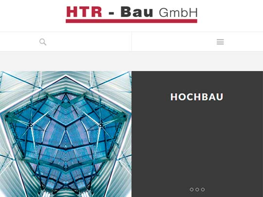 Websdesign Hochbaufirma