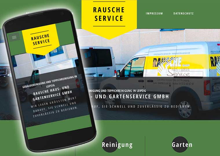 Redesign der Website