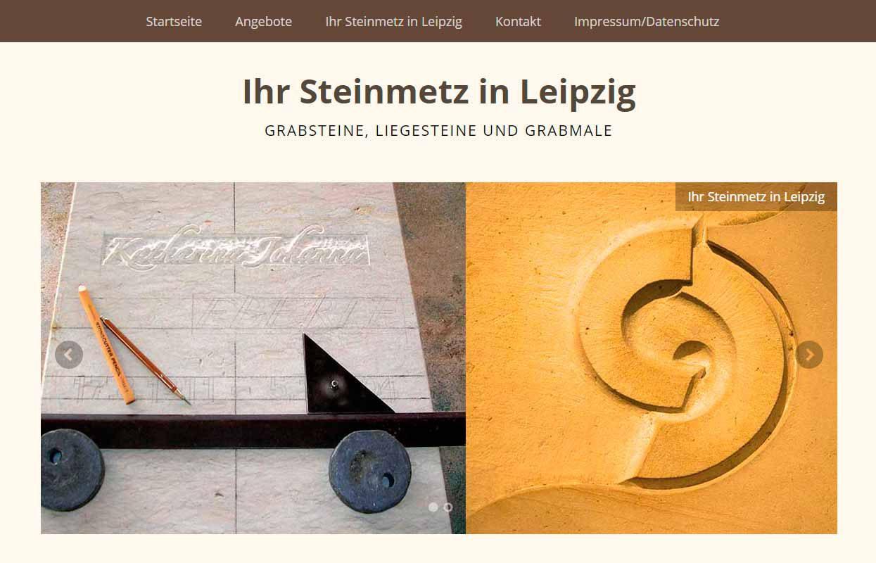 Webdesign Steinmetz